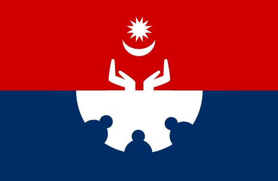 Hamro Party Flag